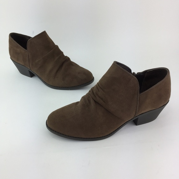 bb0a1c986fe92 GH Bass Co Womens Brown Ankle Erica Shoes